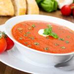 Tomatensoep met basilicum zonder pakjes