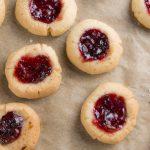 Recept jamkoekjes met vanille en aardbeien