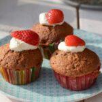 Recept aardbeien cupcakes