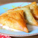 Borrelhapje: Recept kaasdriehoekjes