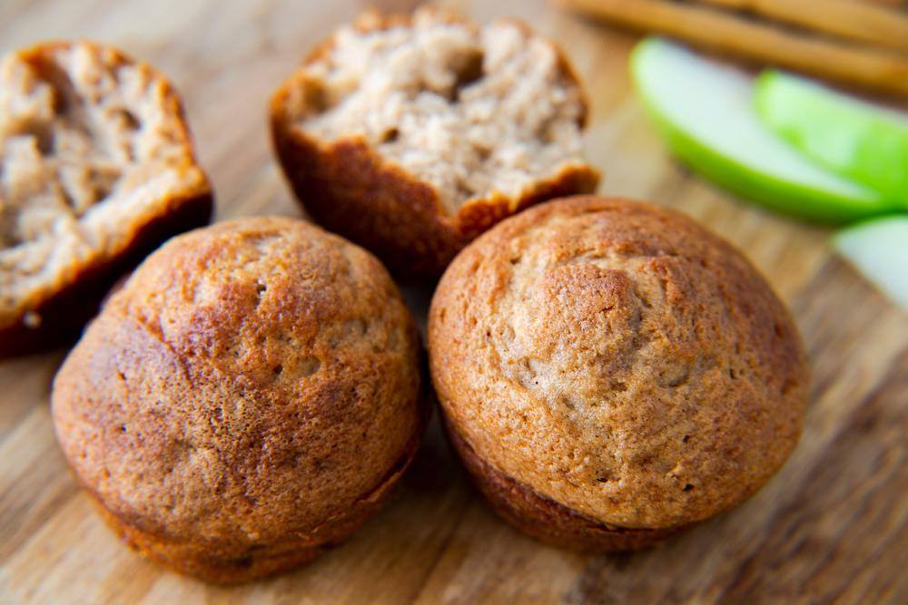 appel gember muffins