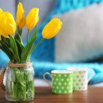 Voorjaar in je huis. Haal je huis uit een winterdepressie