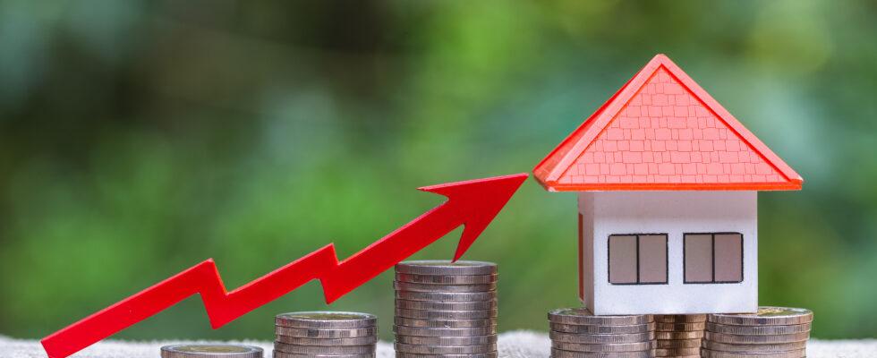 huizenprijzen stijgen