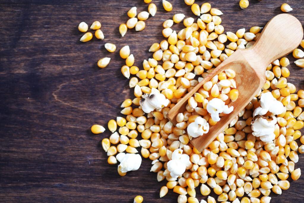 smoky spicemix popcorn